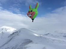 Lisebergskaninen slår världsrekord – i luftballong