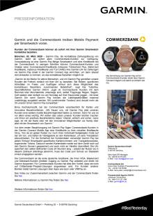 PM_Garmin_Garmin Pay mit Commerzbank