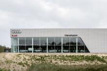 Audi åbner nyt bilhus i Nordsjælland
