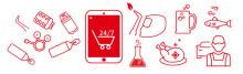 Nu lanseras AGA:s online shop i Sverige