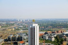 """""""100 Jahre Doppel-M"""": die Leipziger Messe bringt ihr Logo zum Strahlen"""