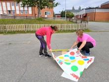 Kreativa lärare på Norsjöskolan skapar för spontan rörelse