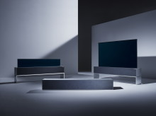 LG presenterer verdens første TV som kan rulles sammen