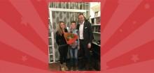 Langenskiölds stora novelltävling 2015 är avgjord! Adam, 13 år, blev årets stjärnförfattare
