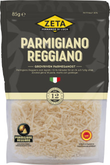 Grovriven Parmesan lanseras i Sverige