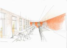 Storsatsning på mötesplatser i V-huset på Lunds Tekniska Högskola