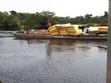 Congo river supply line vital as The Salvation Army aids refugees