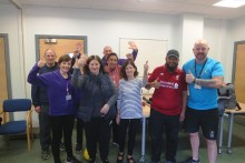 Oldham stroke survivors get active with Stroke Association's new Moving Forward programme