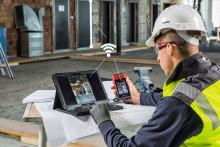 Hilti PD-CS avstandsmåler - en lasermåler med kamera og Wi-Fi for enkel deling av dokumentasjon