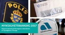 Ny rapport från Företagarna: Nio av elva myndigheter får sänkt betyg av småföretagen
