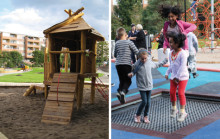 Upprustning av Braxenparken i Fisksätra gav Stena Fastigheter och Nacka kommun pris