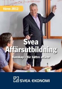 Sveas Affärsutbildningar våren 2012