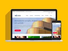 En flexibel webbplats som ska stärka regionen
