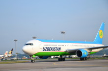 Changi Airport welcomes the arrival of Uzbekistan Airways