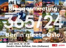 Berlin meets Oslo - innbydelse til bloggermeeting