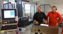 Halvering af den mekanisk produktionstid hos Addiva Production i Sverige
