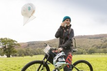 EE launches world's first 4G 'air mast' to connect Red Bull Foxhunt Mountain Bike event in rural Wales