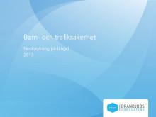 Undersökning Barn- och trafiksäkerhet (nedbrytning på längd) 2013