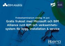 Frukost med BIM Alliance och Microsoft om BIM och verksamhetssystem [Stockholm]