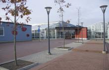 Elever på Färsingaskolan nyfikna på plåtslageri