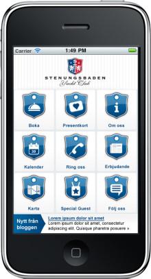 Ökad efterfrågan på mobil hotellbokning – Stenungsbadens nya app ger mobil kundservice och reception på fickan