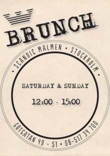 """Malmen is """"Bruncback""""!"""