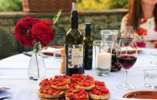 Italiensk grillfest - vegetariska recept och vintips till stunder att minnas