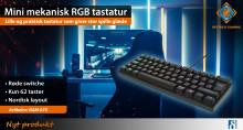 Lille gaming tastatur – STOR spiloplevelse!
