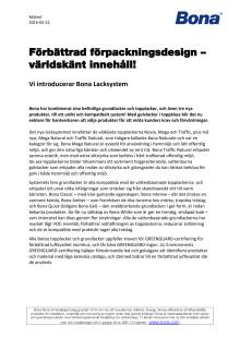 PR: Förbättrad förpackningsdesign - Världskänt innehåll