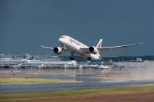 Premiär för Qatar Airways Dreamliner på stockholmsrutten
