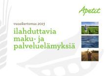 Apetit Oyj:n vuosikertomus 2013