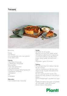 Recept tacopaj från Planti