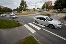 Dalborondellen får cykelpassager och Liedbergsgatan bussfiler