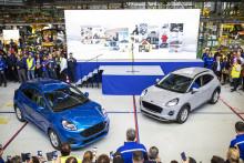 A Ford megkezdte a Puma gyártását, mely az első az Európában idén megjelenő nyolc elektromos hajtású Ford modell közül