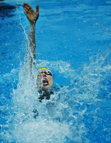 Uppsalasimmaren Emma Svensson vidare på 50 rygg i Universiaden