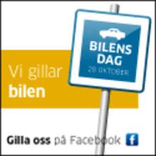 Vi firar Bilens dag 28 oktober