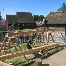 Boksläpp och temadag om timrade hus på Kulturen i Lund
