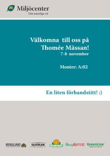 Inbjudan Thomée Mässan 2018