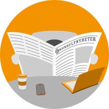 """""""Ambitionen är att gå bort ifrån att i huvudsak köpa IT-konsulttjänsterna per timme"""" - konsultnyheter vecka 9"""