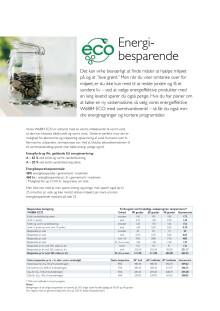 ECO besparelsesberegning