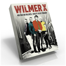 Wilmer X jubilerar med ny bok i höst