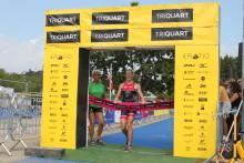 Det ble «here we go again» med nok et NM gull til både Lotte Miller og Jørgen Gundersen i triatlon i dag