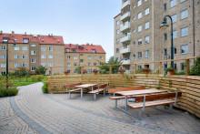 Bostadsföreningen HSB Pukan i Malmö skyddar sina fastigheter i alla väder!