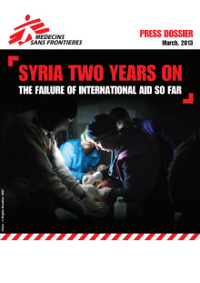 RAPPORT: Syria two years on - the failure of international aid so far