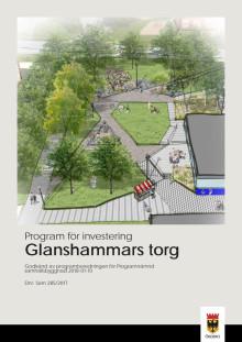 Program för investering Glanshammars torg