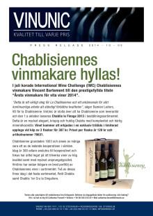 Chablisiennes vinmakare hyllas
