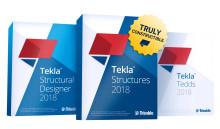 Trimble presenterar Tekla 2018 BIM-programvarulösningar