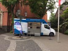 Beratungsmobil der Unabhängigen Patientenberatung kommt am 31. Juli nach Düsseldorf.