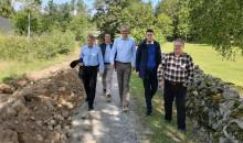 Karlshamn Energis bredbandsutbyggnad på landsbygden i fokus för riksdagsledamot
