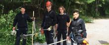 Möt våra sommarjobbande ungdomar i Hagalund